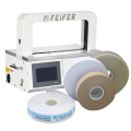 Páskování fóliovou a papírovou páskou Páskovací stroje