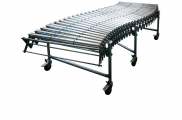 DH - extensible conveyors, steel rollers Gravity conveyors