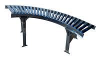 curved conveyor modules Gravity conveyors