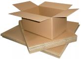 Krabice-pětivrstvá lepenka 5VVL Krabice klopové